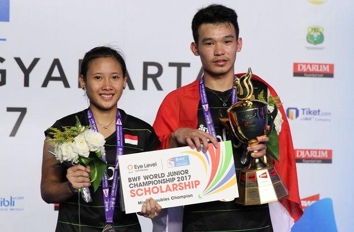 Rinov Rivaldy/Pitha Haningtyas Mentari tampil sebagai juara dunia ganda campuran. Rinov/Mentari memenangi All Indonesian Final melawan Rehan Naufal Kusharjanto/Siti Fadia Silva Ramadhanti, 21-23, 21-15 dan 21-18.