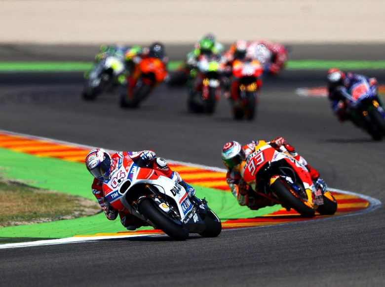 Marquez atau Dovizioso Jadi Juara Dunia? Ini Skenarionya