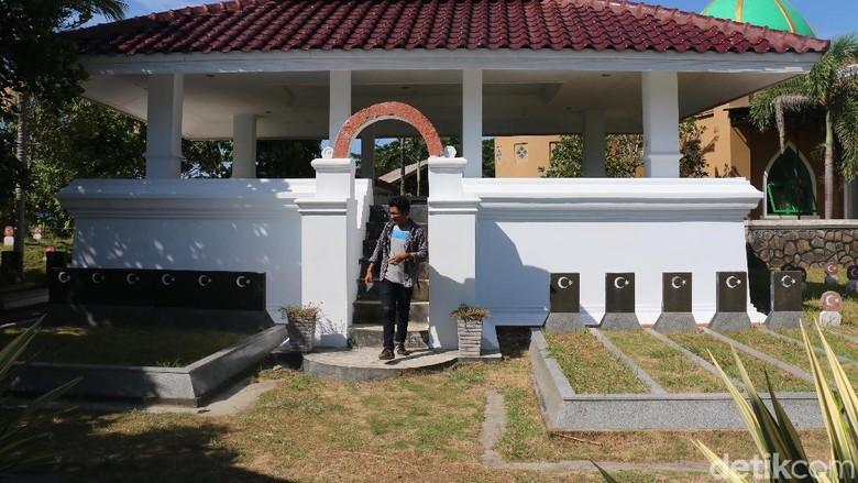 Makam leluhur Turki di Banda Aceh (Agus Setyadi/detikTravel)