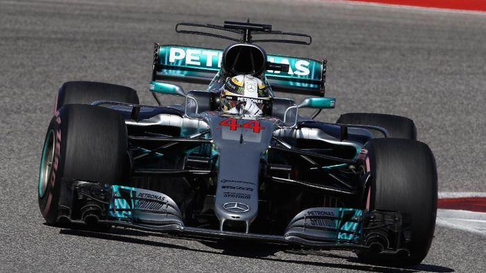 Lewis Hamilton menangi GP Amerika 2017 (Clive Mason/Getty Images)