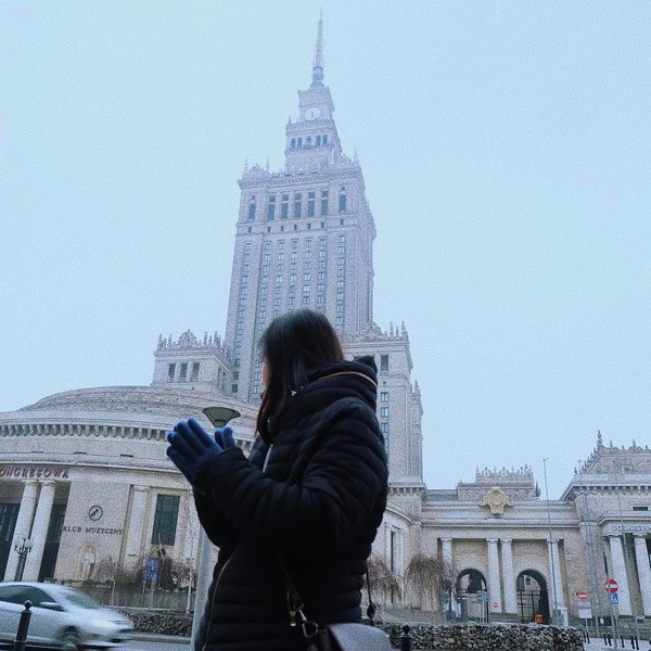 Tak hanya di dalam negeri, di luar negeri atlet bulutangkis ini juga jalan-jalan (greegoriaa/Instagram)