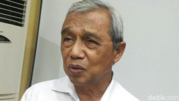 Busyro Muqoddas, Ketua PP Muhammadiyah di kantor PP Muhammadiyah, Senin (23/10/2017).