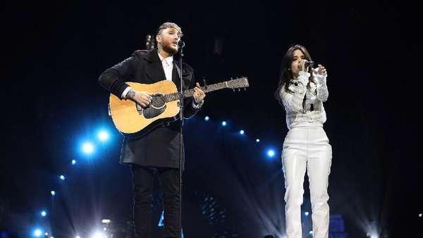 Penampilan Camila Cabello Mengguncang Stadion Wembley