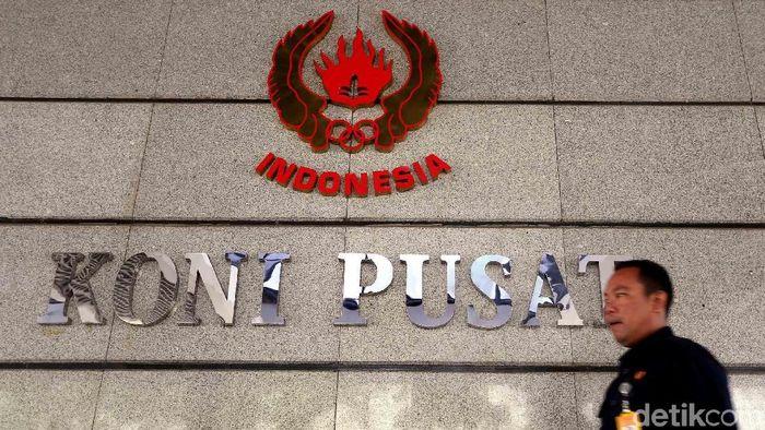 Komite Olahraga Nasional Indonesia (KONI) Pusat merespons keinginan pemerintah yang mengharapkan Pekan Olahraga Nasional (PON) digelar dua tahun sekali (Foto: Rengga Sancaya/detikSport)