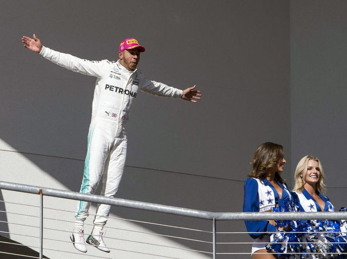 Driver Mercedes, Lewis Hamilton (Foto: Jerome Miron-USA TODAY/Reuters)