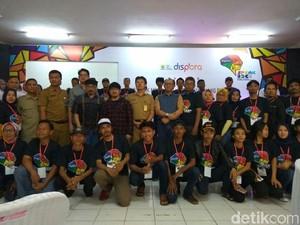 Pemkot Bandung Fasilitasi 100 Pemuda Kiaracondong Belajar Mosaik