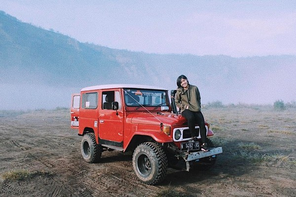 Di luar kesibukannya, Gregoria menyempatkan buat jalan-jalan. Kegiatan wisatanya pun sempat beberapa kali diunggah di akun Instagramnya @greegoriaa (greegoriaa/Instagram)