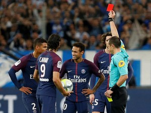 Selain Tak Bisa Main Lawan Nice, Neymar Juga Kantongi Hukuman Skors Satu Laga