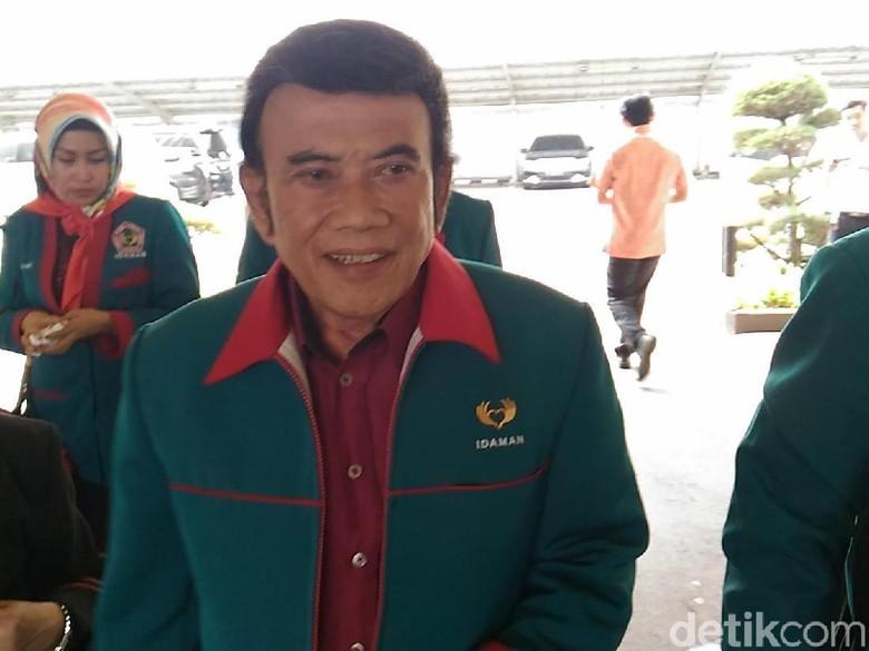 Rhoma Irama Klaim Partainya Belum Diverifikasi KPU