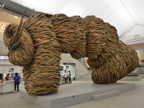 Karya Joko Avianto di Yokohama Triennale (Foto: Dewi Ria Utari)