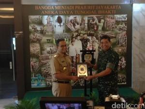 Bertemu Pangdam Jaya, Anies-Sandi Koordinasi Pengamanan Asian Games