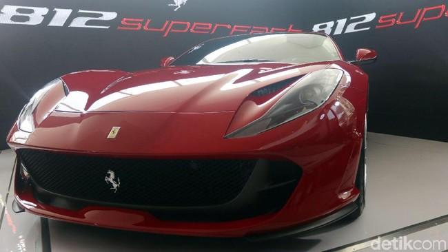 Ferrari 812 Superfast Foto: Rachman Haryanto