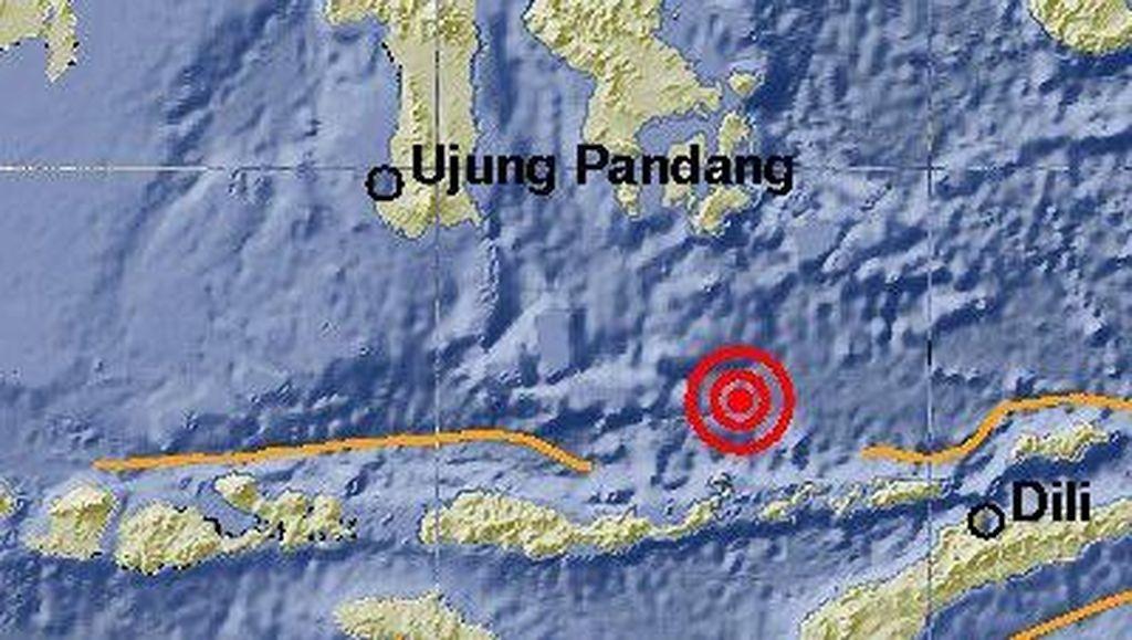 Gempa 6,6 SR Guncang Flores Timur