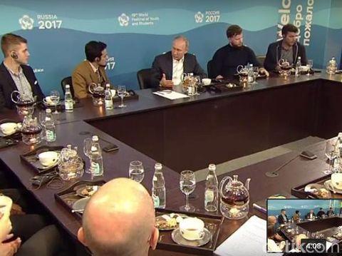 Dokter Gamal dan Presiden Putin di Rusia/