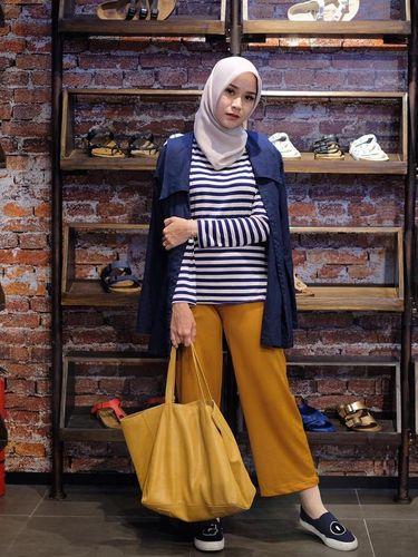 Foto: Inspirasi Hijab dari 6 Selebriti Indonesia yang sedang Hamil