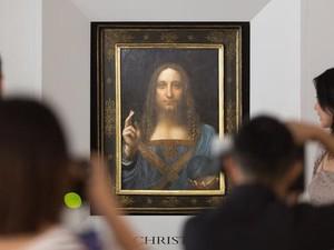 Teka Teki Lukisan Kristus Leonardo da Vinci Belum Terungkap