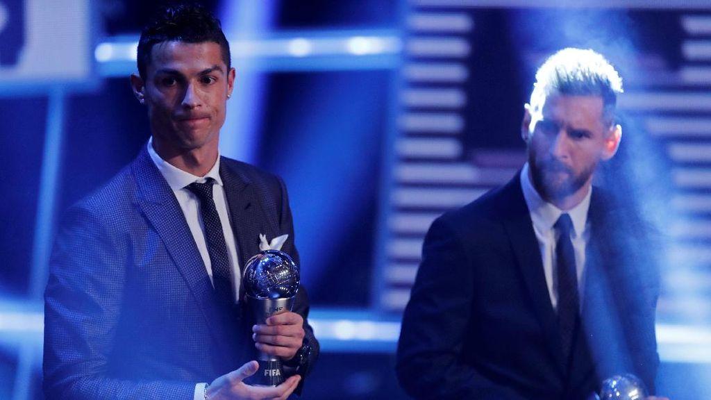 Penghargaan Pemain Terbaik FIFA 2018: Messi Pilih Ronaldo