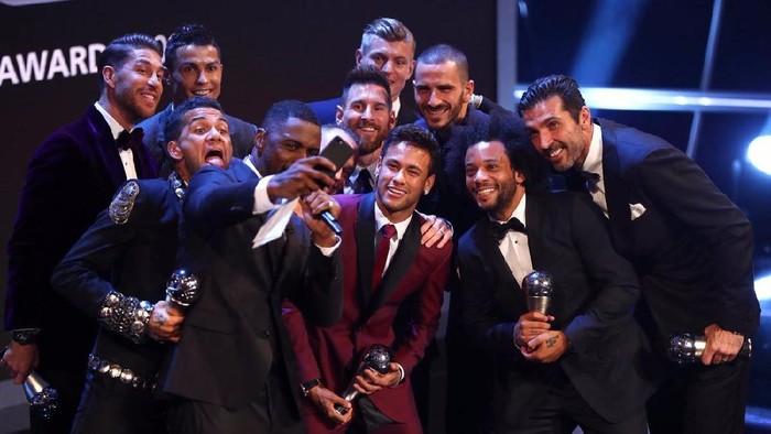 Foto: FIFA FIFPro World XI 2017