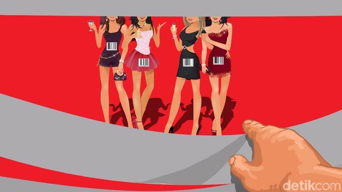 Ilustrasi tentang praktek bisnis prostitusi di Hotel Alexis