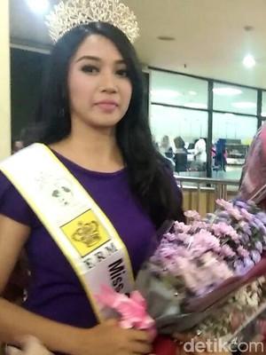 Gadis Cantik asal Sidoarjo Sabet 4 Gelar di Miss Global Beauty 2017