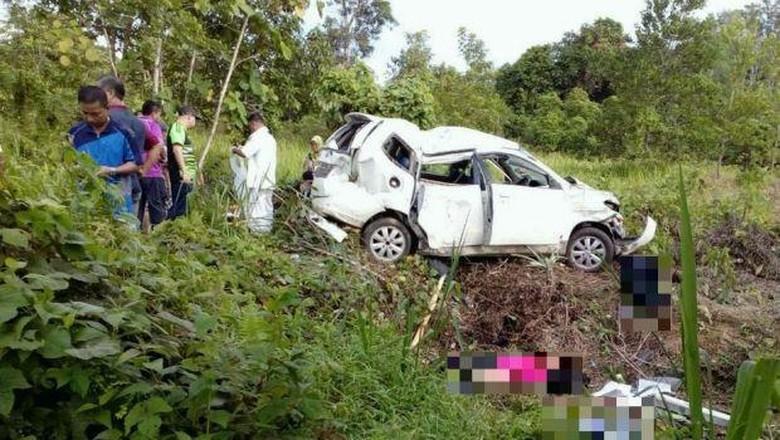 Kecelakaan karena Jalan Berlubang, 4 Pelajar Tewas di Sabah