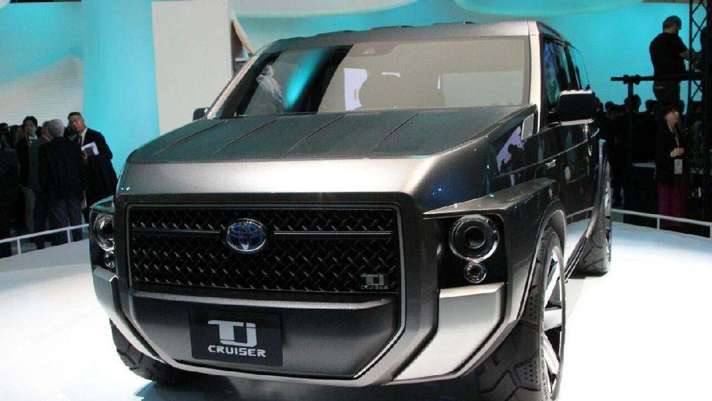 Si Ganteng Toyota TJ Cruiser yang Siap Diproduksi