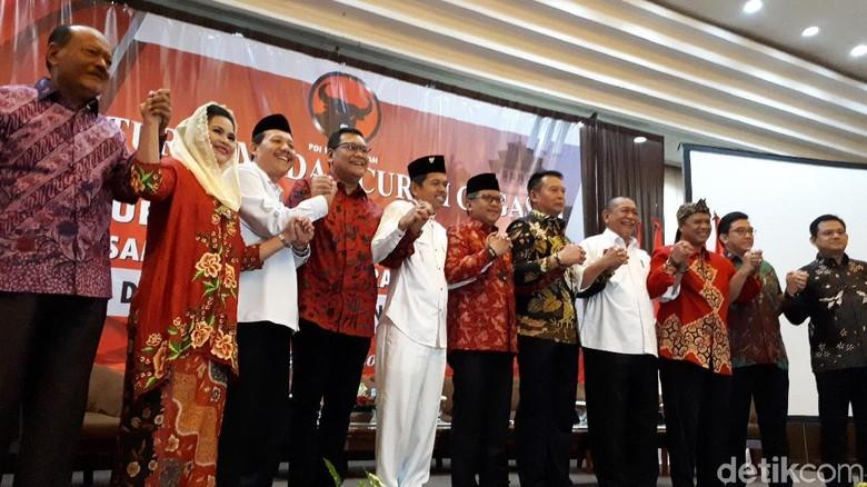 PDIP Godok Tiga Nama yang akan Diusung di Pilgub Jabar