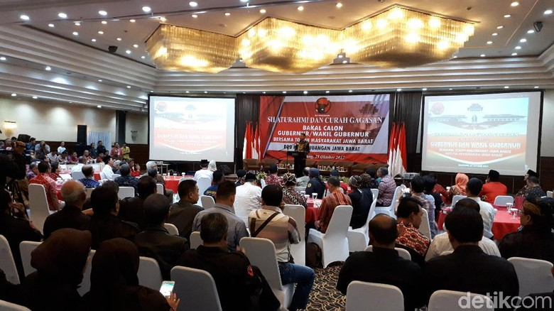 Bakal Cagub Jabar PDIP: Deddy-Dedi Hingga Anton Charliyan