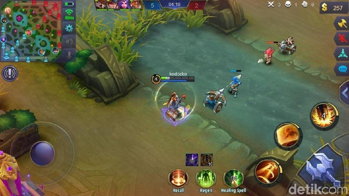 Game Mobile Legends. Foto: screenshot detikINET