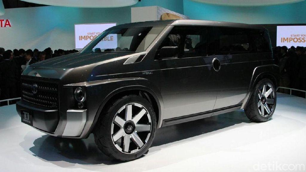 Toyota TJ Cruiser, Crossover Rasa Mobil Van