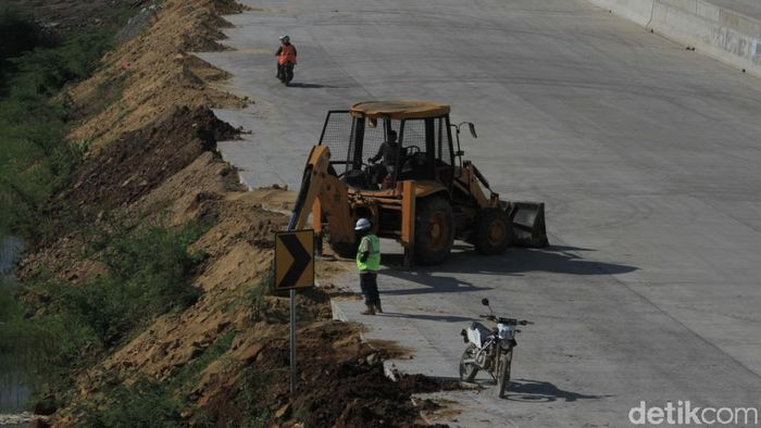 Ilustrasi Pembangunan Jalan Tol (Foto: Wisma Putra)