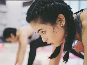 Berkeringat Saat Olahraga, Maudy Ayunda Tetap Cantik