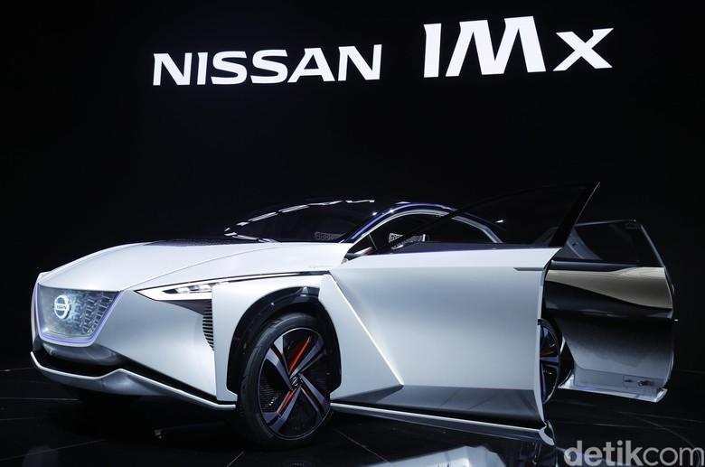 Nissan IMx, mobil listrik Nissan. Foto: Dikhy Sasra