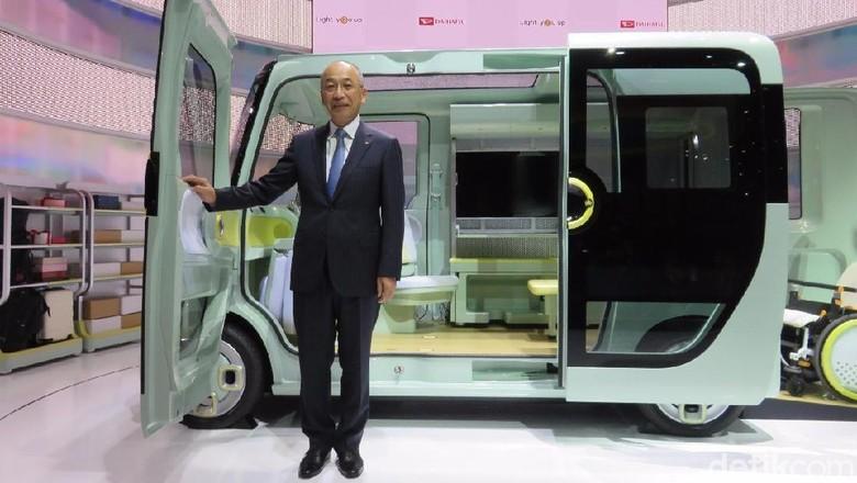 Presiden Daihatsu Motor Co Koichiro Okudaira Foto: M Luthfi Andhika