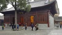 Pagoda dikelilingi 300 kelenteng di awal, tapi kini hanya dapat dijumpai dua kelenteng saja (Elvan/detikTravel)