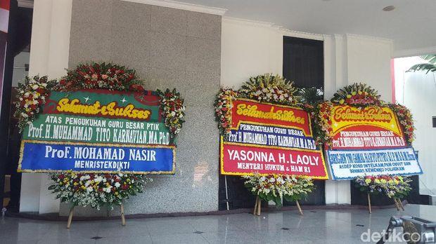 Jenderal Tito Dikukuhkan Jadi Guru Besar PTIK di Hari Kelahirannya