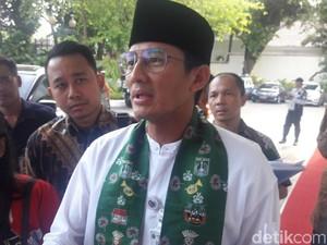 Sandiaga Ingin Pihak Swasta Ikut Kelola Transportasi di Jakarta