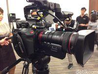 Canon Rilis Kamera Video Anyar, Harganya Rp 500 Juta