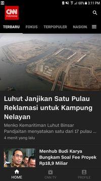 CNN Indonesia di iOS dan Android Usung Konsep Clean Design