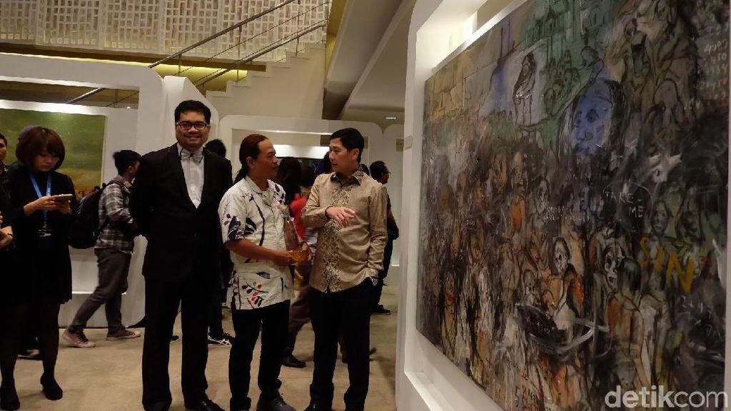 Karya Finalis Kompetisi Seni Lukis UOB Dipamerkan hingga 26 November
