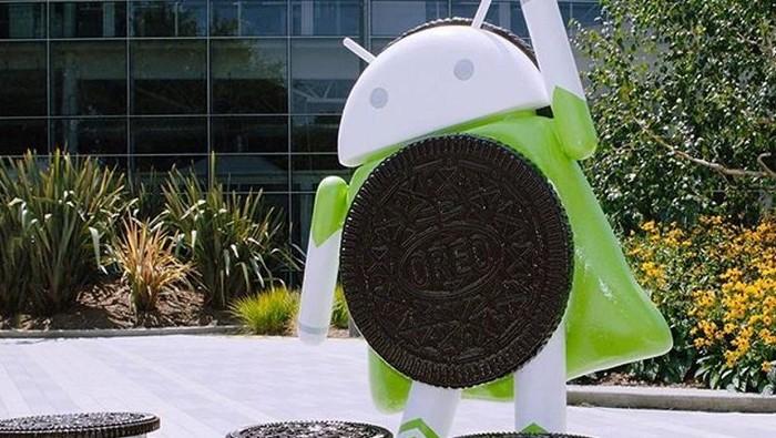 Patung Android Oreo. Foto: Istimewa