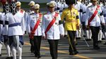 Ratusan Ribu Warga Thailand Saksikan Prosesi Kremasi Raja Bhumibol