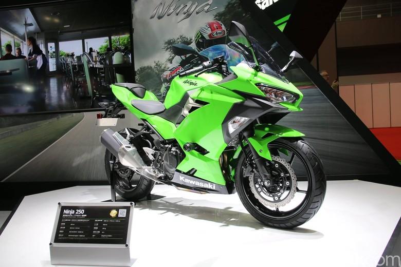 Kawasaki Ninja 250 Fi di Tokyo Motor Show 2017 Foto: Kawasaki