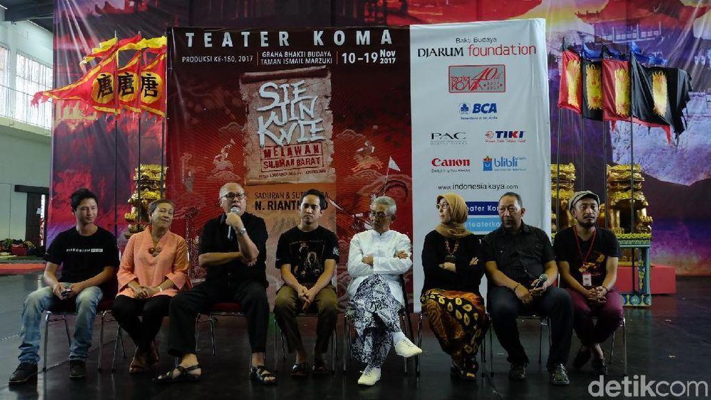 Sukses dengan Trilogi Sin Jie Kwie, Teater Koma akan Pentaskan Lakon ke-4