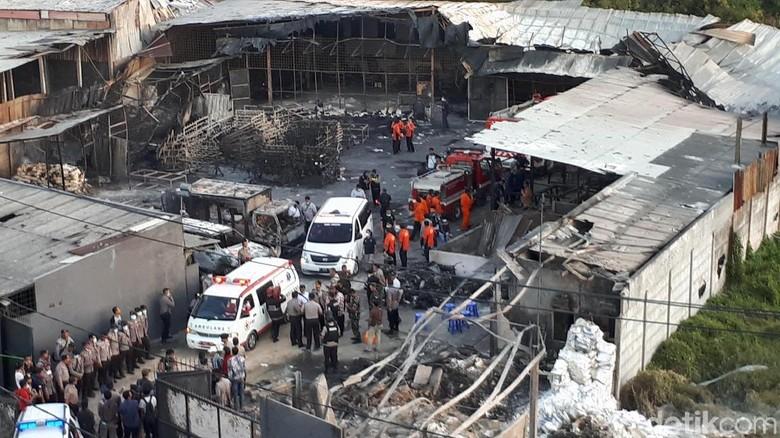 Maut di Pabrik Mercon, Kades: Gerbang Terkunci, Tak Bisa Selamatkan Diri