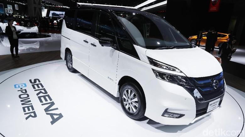 Nissan Serena e-Power saat diluncurkan di Tokyo Motor Show (Foto: Dikhy Sasra)