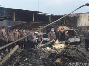 DVI Jabar Buka Pos Antemortem Cari Korban Ledakan Pabrik Kembang Api