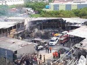 Polisi Gelar Rekonstruksi Ledakan Pabrik Kembang Api