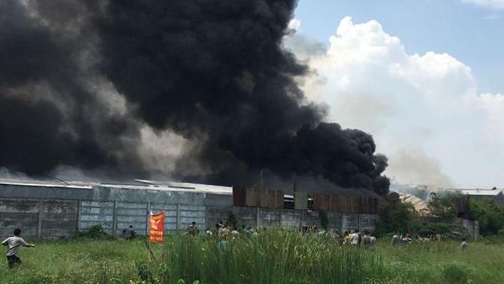 Korban Berjatuhan dalam Ledakan di Kosambi, Ini Dampak Api yang Mematikan