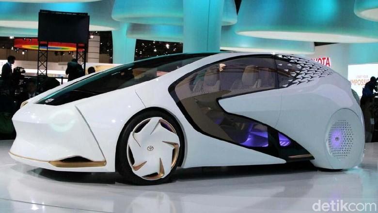 Mobil masa depan Toyota Foto: Rangga Rahadiansyah